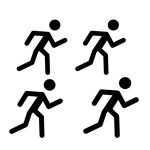 marathon runner icons