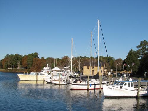 Onancock Harbor