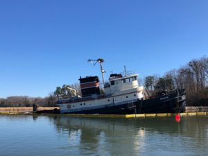 Tugboat Bourne sunk