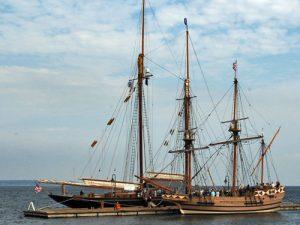 Yorktown tall ships