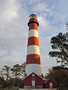 Assateague Lighthouse, also known as Assateague Light, is a historic landmark and navigational beacon along the Atlantic Coast of Virginia.