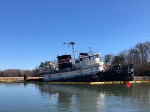Tugboat Bourne sunk