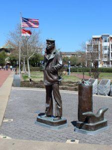 lone sailor Norfolk VA