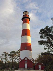 Assateague Lighthouse, also known as Assateague Light, is a historic landmark and navigational beacon along the Atlantic Coast of Virginia.